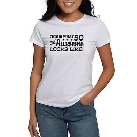 Funny 50th Birthday Women's T-Shirt