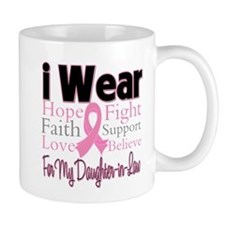 DaughterinLaw Breast Cancer Mug