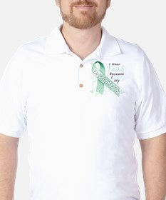 I Wear Teal Because I Love My Daughter T-Shirt