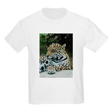 Jaguar Portrait Kids T-Shirt