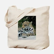 Jaguar Portrait Tote Bag