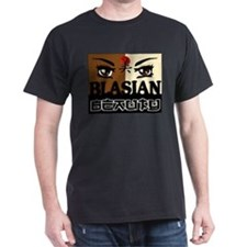 Blasian Beauty Black T-Shirt