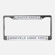 Roseville License Plate Frame
