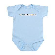 Let It Be Swirls Infant Bodysuit