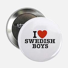 I Love Swedish Boys Button
