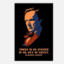 Darrow - Justice Postcards (Package of 8)