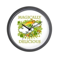 Magically Delicious Wall Clock