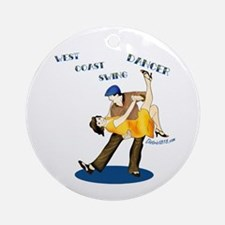 SWING DANCING Ornament (Round)