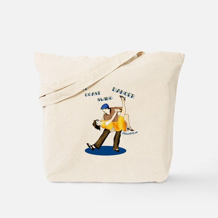 SWING DANCING Tote Bag