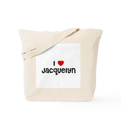 I * Jacquelyn Tote Bag