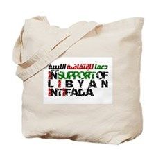 Libyan Intifada Tote Bag