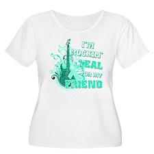 I'm Rockin' Teal for my Friend T-Shirt