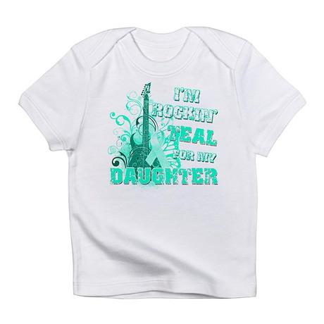 I'm Rockin' Teal for my Daughter Infant T-Shirt