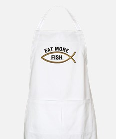 Eat More Fish BBQ Apron