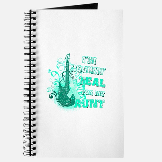 I'm Rockin' Teal for my Aunt Journal