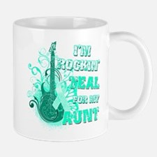 I'm Rockin' Teal for my Aunt Mug