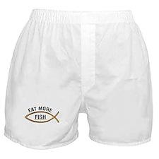 Eat More Fish Boxer Shorts