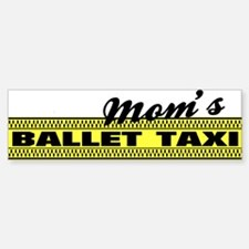 Mom's Ballet Taxi Sticker (Bumper)