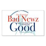 I'm Turning Bad Newz Good Sticker (Rectangle)