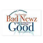 I'm Turning Bad Newz Good Postcards (Package of 8)