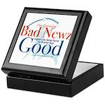 I'm Turning Bad Newz Good Keepsake Box