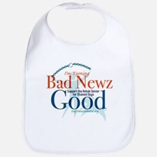 I'm Turning Bad Newz Good Bib