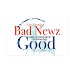 I'm Turning Bad Newz Good 38.5 x 24.5 Wall Peel