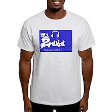 zeke's shirts Ash Grey T-Shirt