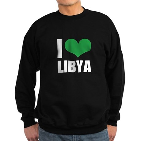 I Heart Libya Sweatshirt (dark)