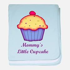 Mommy's Little Cupcake baby blanket