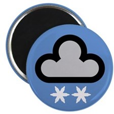 Snow Weather Symbol Magnet