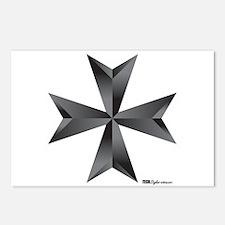 Maltese Cross Postcards (Package of 8)