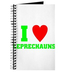 I LOVE Leprechauns Journal