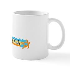 Ocean City NJ - Beach Design Mug
