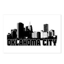 Oklahoma City Skyline Postcards (Package of 8)