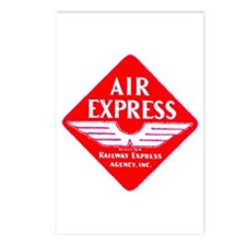 Air Express Postcards (Package of 8)