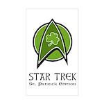 Star Trek St. Patrick Ed. Sticker (Rectangle)