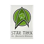 Star Trek St. Patrick Ed. Rectangle Magnet