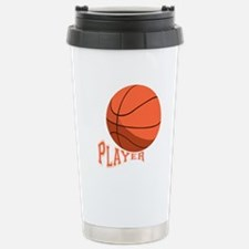 The Player Stainless Steel Travel Mug