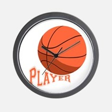 The Player Wall Clock