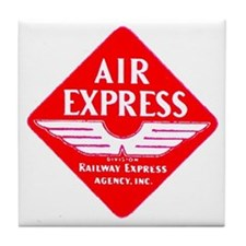 Air Express Tile Coaster