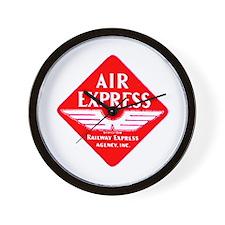 Air Express Wall Clock