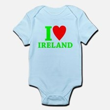 I LOVE IRELAND Infant Bodysuit