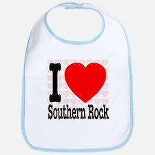 I Love Southern Rock Bib