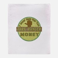 Park Ranger Throw Blanket
