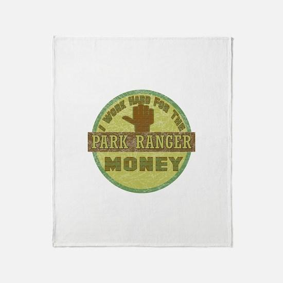 Park Ranger Throw Blanket