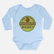 Photographer Long Sleeve Infant Bodysuit