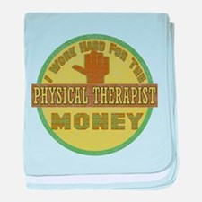 Physical Therapist baby blanket