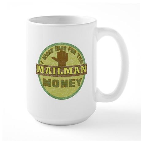 Mailman Large Mug