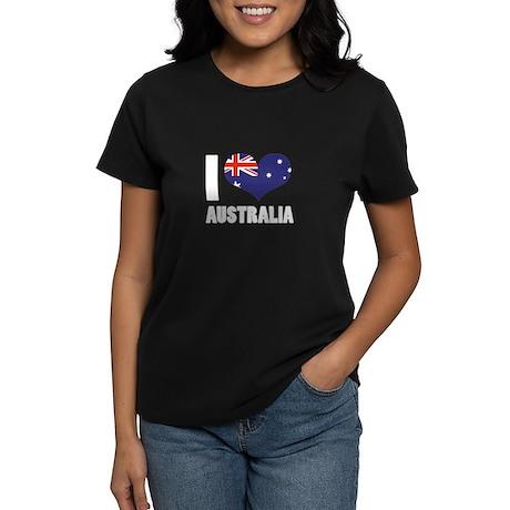 I Heart Australia Women's Dark T-Shirt